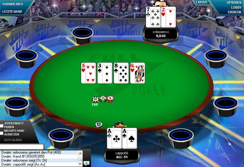 free online poker tournaments