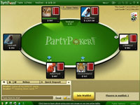 Party Poker Pokerraum
